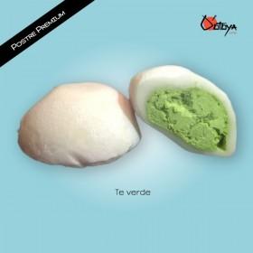 Mochi Premium de Relleno de Te Verde